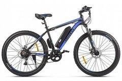 Электровелосипед Eltreco XT 600 D (2021) Чёрно-синий
