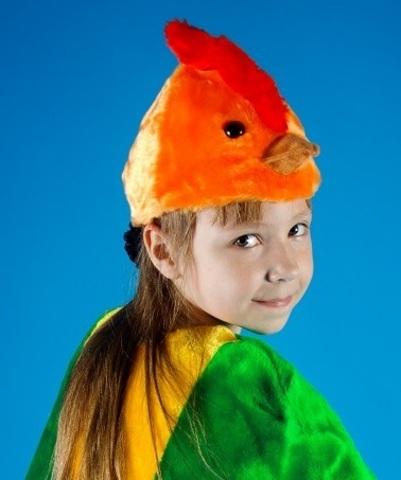 Карнавальная шапочка Петух