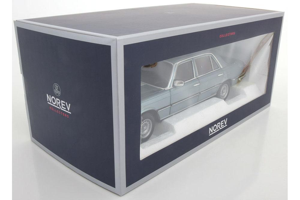 Коллекционная модель Mercedes-Benz W116 450 SEL 6.9 1976 BLUEGREY METALLIC