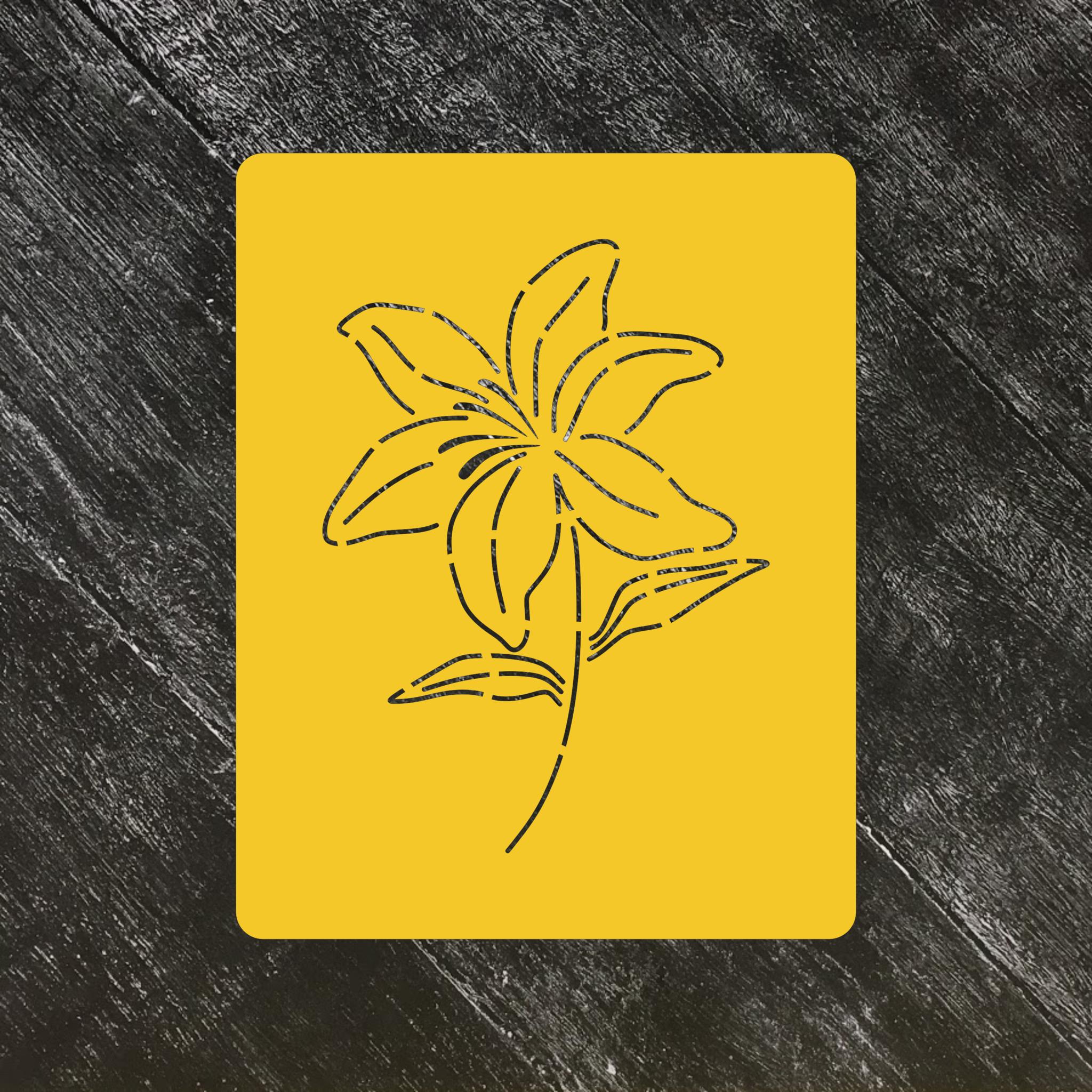 Цветок Лилия №1