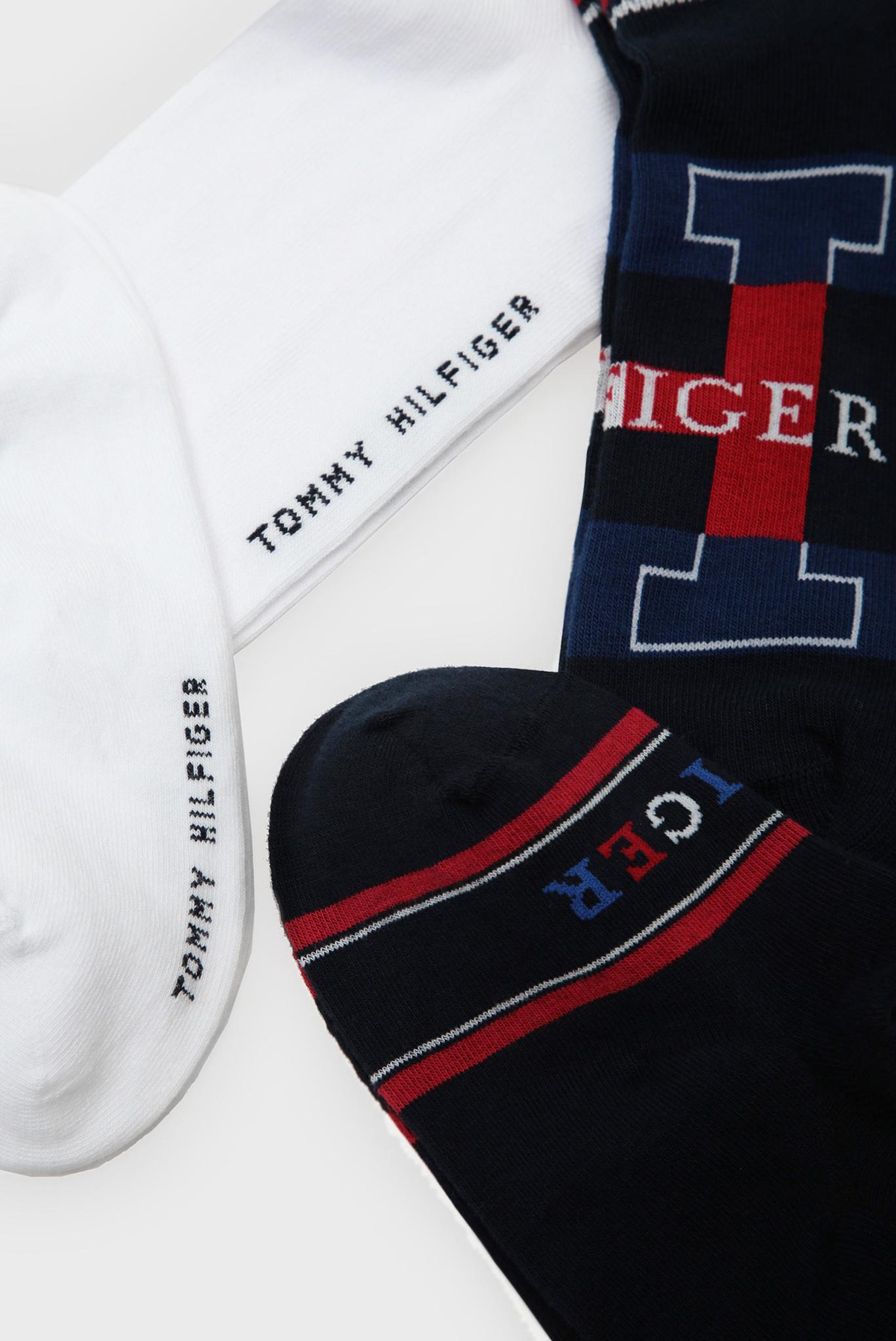 Хлопковые носки (4 пары) Tommy Hilfiger