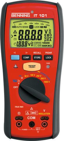Прибор для измерения сопротивления изоляции IT101