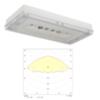 Светильник для эвакуационного и антипанического аварийного освещения SOLID Zone LOWBAY IP65 Teknoware