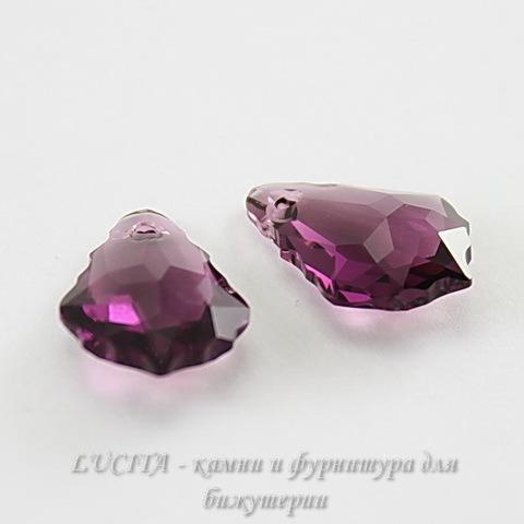 6090 Подвеска Сваровски Baroque Amethyst (16х11 мм) ()