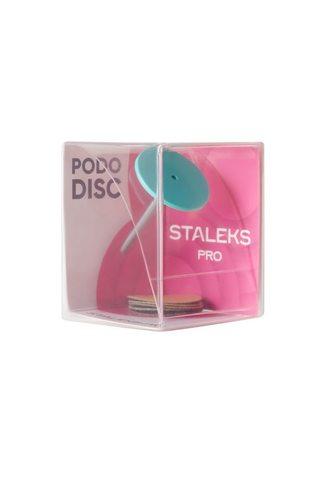 Диск педикюрный PODODISC EXPERT М в комплекте со сменным файлом 180 грит 5 шт (20 мм)