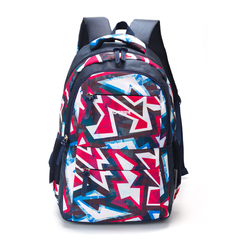 Рюкзак Torber Class X 15,6'', темно-синий с орнаментом, 45x30x18 см, 17 л