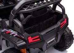 Детский электромобиль багги с прицепом