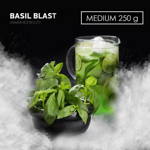 Табак Dark Side MEDIUM BASIL BLAST 250 г