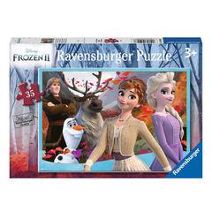 Puzzle DFZ: Disney Frozen 35 pcs