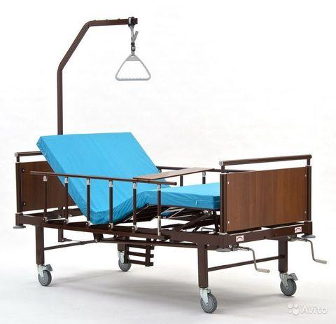 Кровать медицинская функциональная  КМФ 943 WOOD - фото