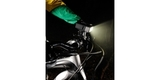 Светодиодный LED фонарь SP POV Light 2.0 на велосипеде