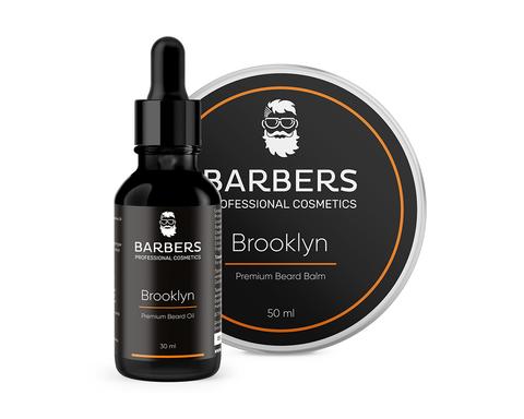 Набір для догляду за бородою Barbers Brooklyn 80 мл (1)