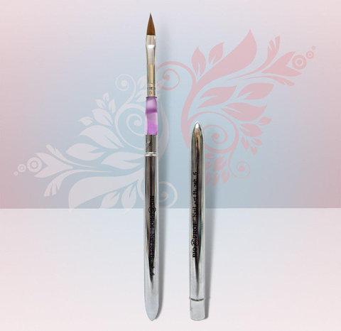 Кисть для акрила со съемной ручкой № 4