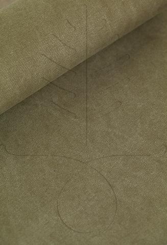 Широкий мраморный канвас, цвет полынь