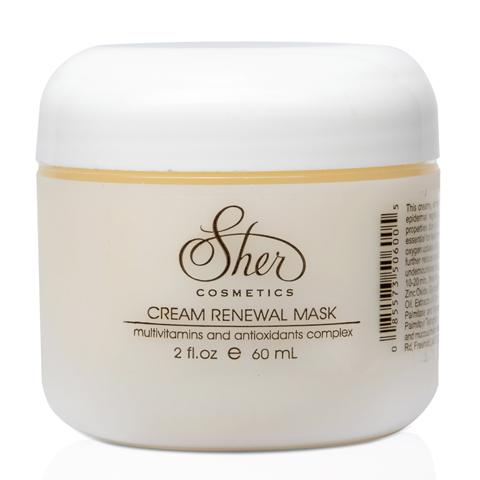 Sher Cosmetics: Кремовая восстанавливающая маска для лица (Cream Renewal Mask), 60мл