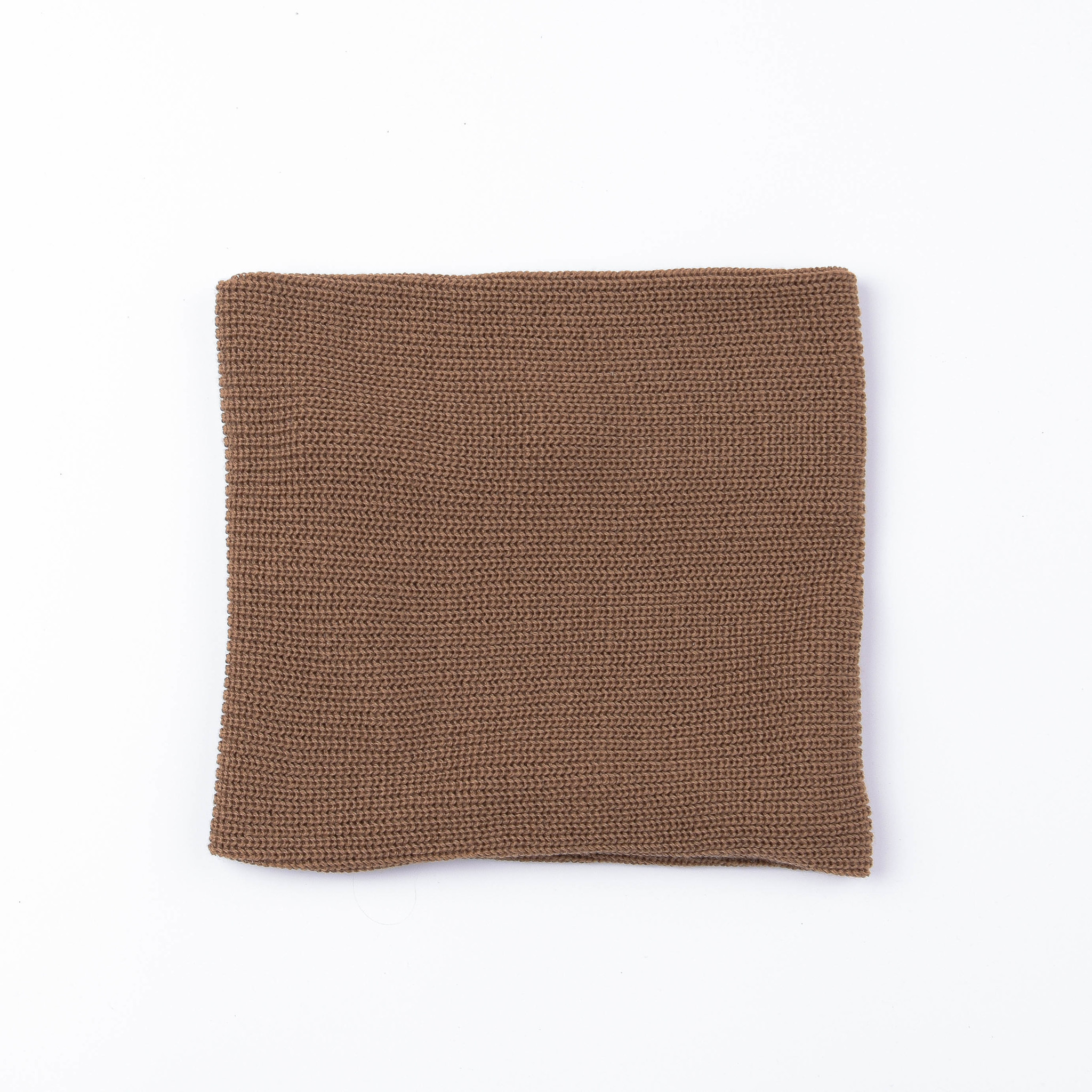 Knitted snood - Nut