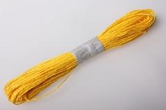 Шнур бумажный Желтый  2мм*47 м