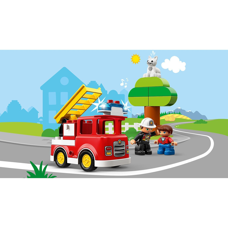 Конструктор LEGO DUPLO Town Пожарная машина 10901