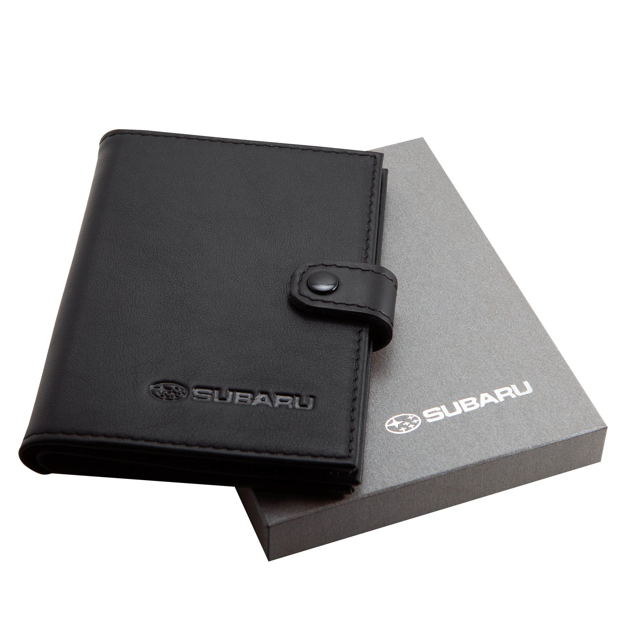 Портмоне для автодокументов и паспорта Subaru
