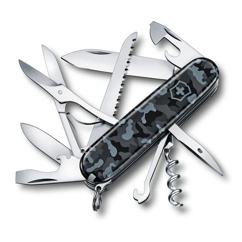 Нож Victorinox Huntsman, 91 мм, 15 функций, морской камуфляж123