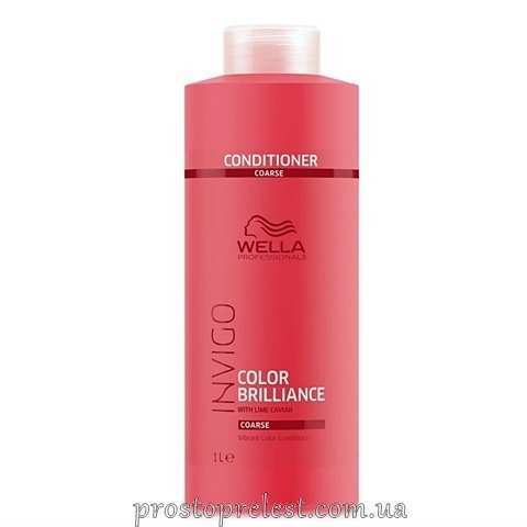 Wella Invigo Color Brilliance Conditioner Coarse - Кондиционер для жестких окрашенных волос