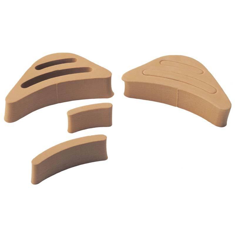 Вставки для уменьшения обуви на 1—2 размера и снижения давления на пальцы, 1 пара