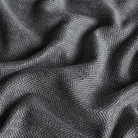 Ткань под лен Белла черный