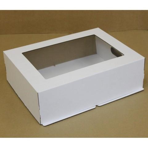 Коробка для торта с окном, 30*40*12см