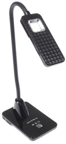 Настольная лампа SUPRA SL-TL325 черный