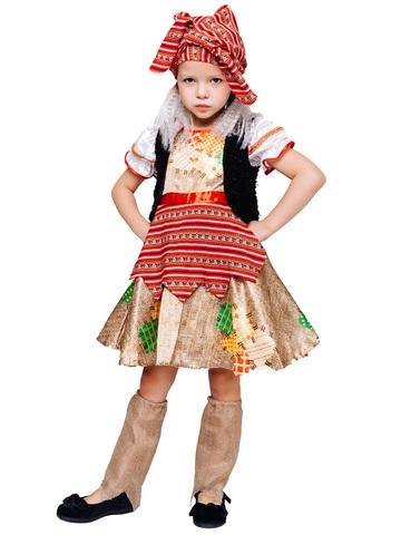 Карнавальный костюм детский Баба Яга