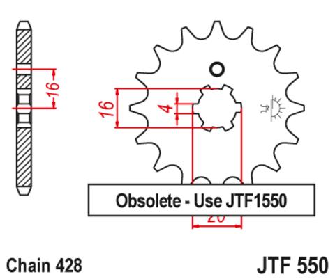 JTF550