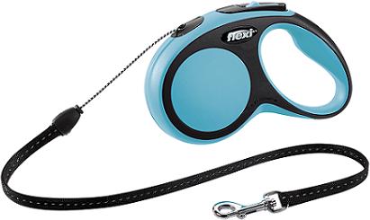 Рулетки Поводок-рулетка Flexi New Comfort S (до 12 кг) трос 5 м черный/синий 1f879ebf-3795-11e6-80f8-00155d29080b.png