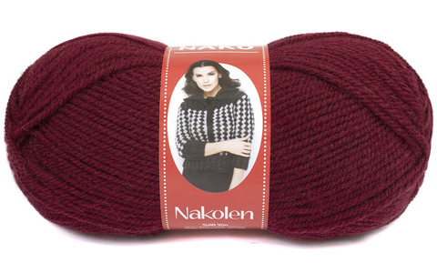 Купить Пряжа Nako Nakolen Код цвета 999 | Интернет-магазин пряжи «Пряха»