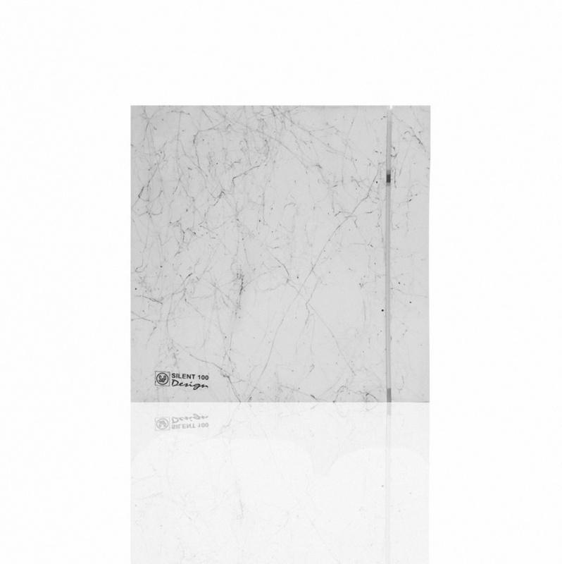 Silent Design series Накладной вентилятор Soler & Palau SILENT 100 CHZ DESIGN MARBLE WHITE (датчик влажности) 009марбвайт.jpeg