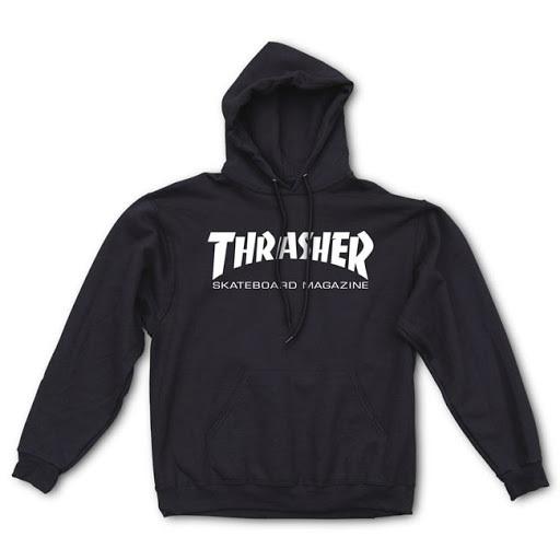 Толстовка THRASHER Skate Mag Hood Black