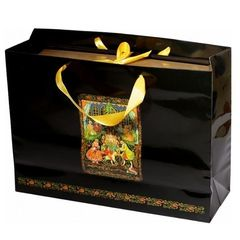 Красочный пакет в подарок при покупке новогоднего шоколадного набора!