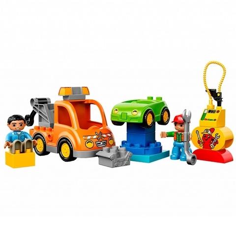 LEGO Duplo: Буксировщик эвакуатор 10814 — Tow Truck — Лего Дупло