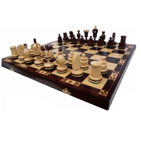 Шахматы Королевские (инкрустация) 136а пр-во Польша