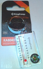 Брелок-компас Kingcamp Thermometer Compass - 2