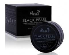 Маска - патч для глаз с черным жемчугом Moods Belov