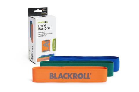 Набор текстильных мини-эспандеров BLACKROLL® LOOP BAND 30 см (3 шт.)
