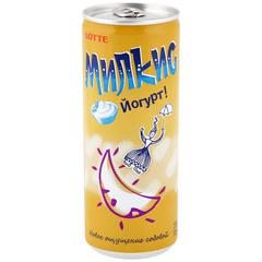Напиток безалкогольный Lotte Милкис со сливочным йогуртовым вкусом 250 мл