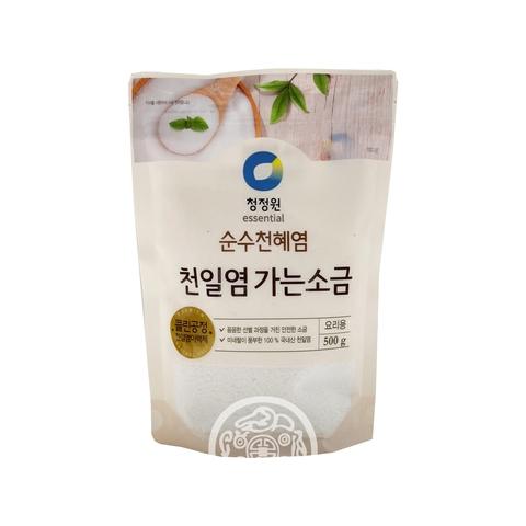 Соль пищевая морская мелкая 500г Daesang Корея