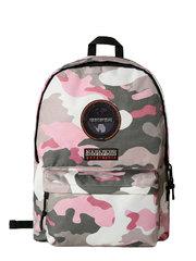 Napapijri рюкзак Voyage Mini Print темно-розовый камуфляж