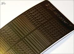 Металлизированные наклейки Arti nails Stiker цвет золото №1