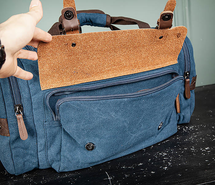 BAG502-3 Дорожная сумка для ручной клади средних размеров фото 10