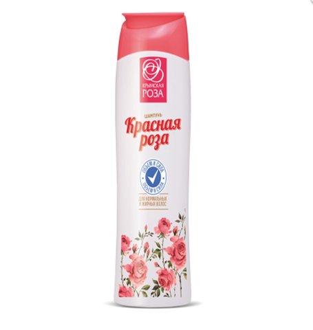 Шампунь «Красная Роза» Объем и сила для жирных волос™Крымская Роза