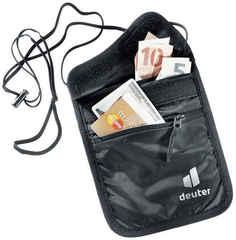 Кошелек на шею Deuter Security Wallet II black (2021)