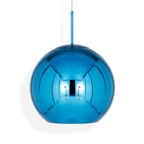 Подвесной светильник копия Copper shade by Tom Dixon (синий, D40)