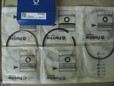 Кольца поршневые, к-т на 1 поршень / PISTON RING KIT АРТ: 10000-05804